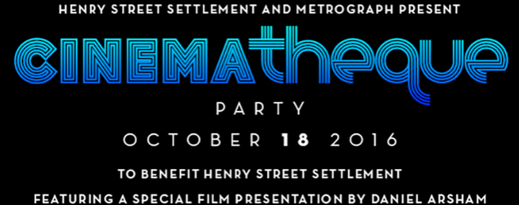 Information about CINEMAtheque Party including Hosts and Co-Chairs, October 18, 2016