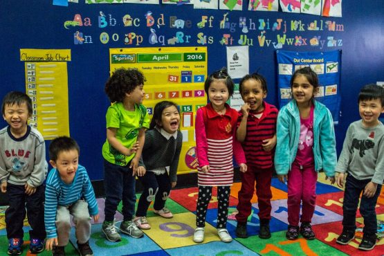 Children at Early Childhood Education