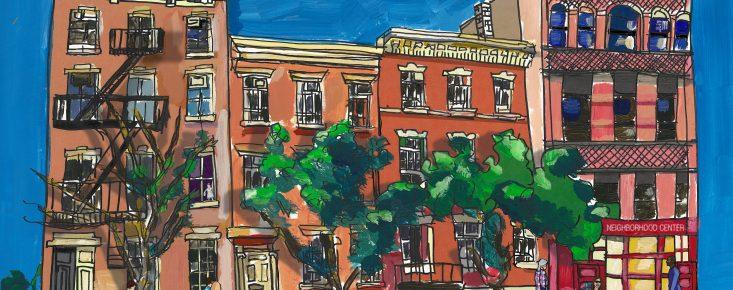 Artwork rendering of Henry Street Settlement headquarters