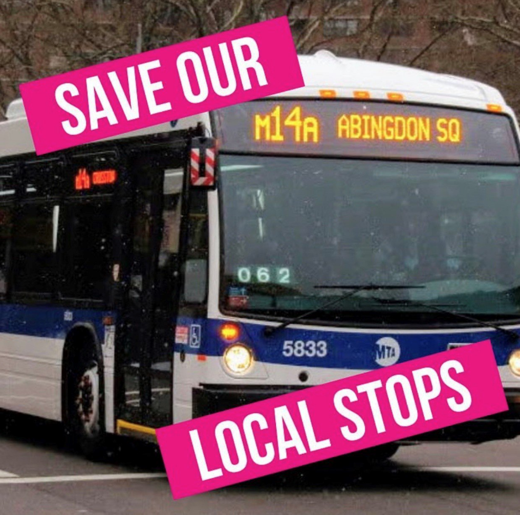 Save our Local Stops on M14A