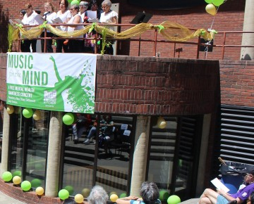 Music for the Mind, a free mental health concert, held on June 4, 2019.