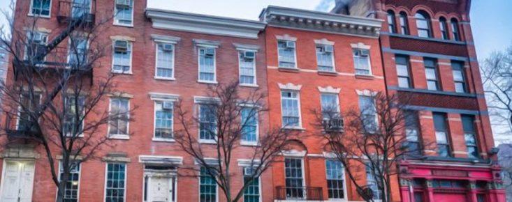 Henry Street Settlement headquarters banner