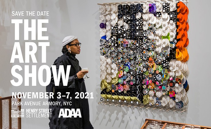 Save The Date - The Art Show - November 3-7, 2021